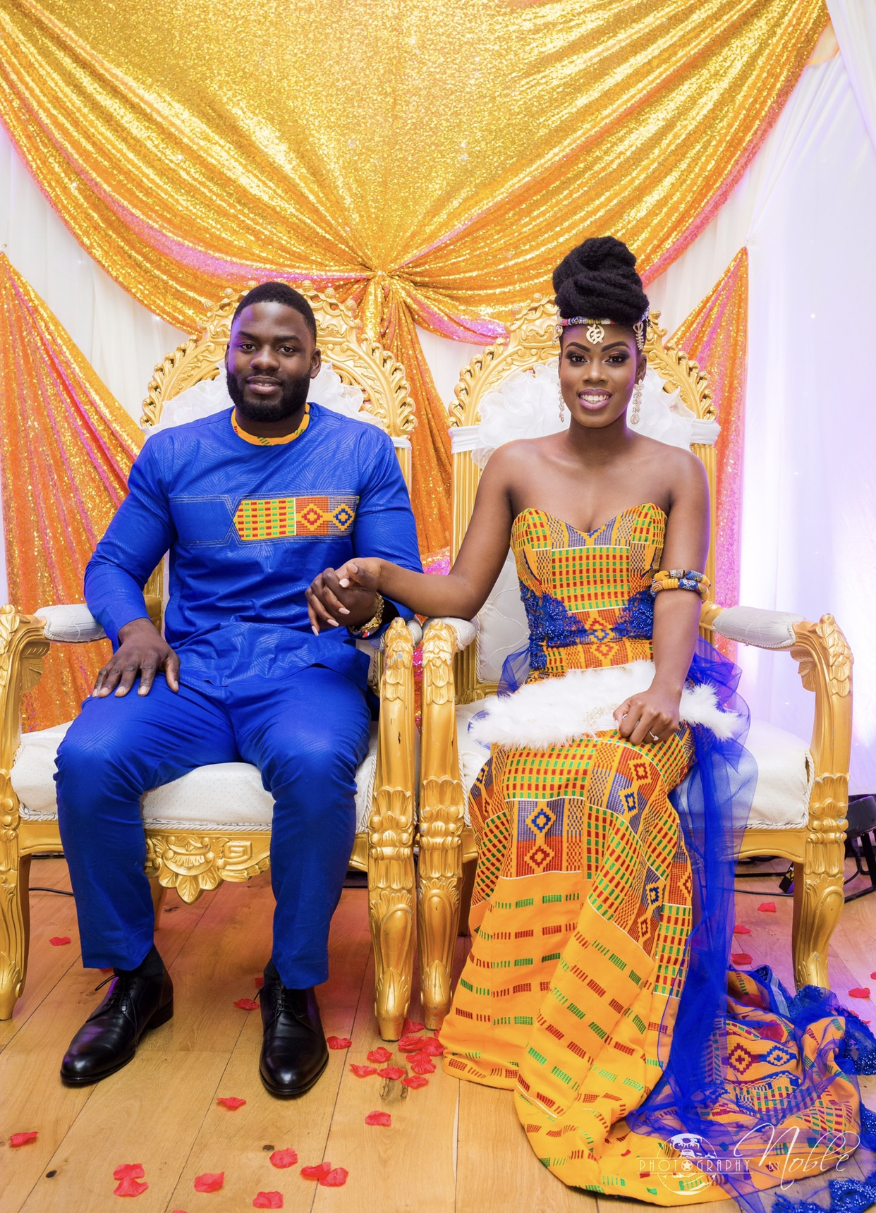 NII Amp ADJOA WHEN GOD SAYS YES I Do Ghana