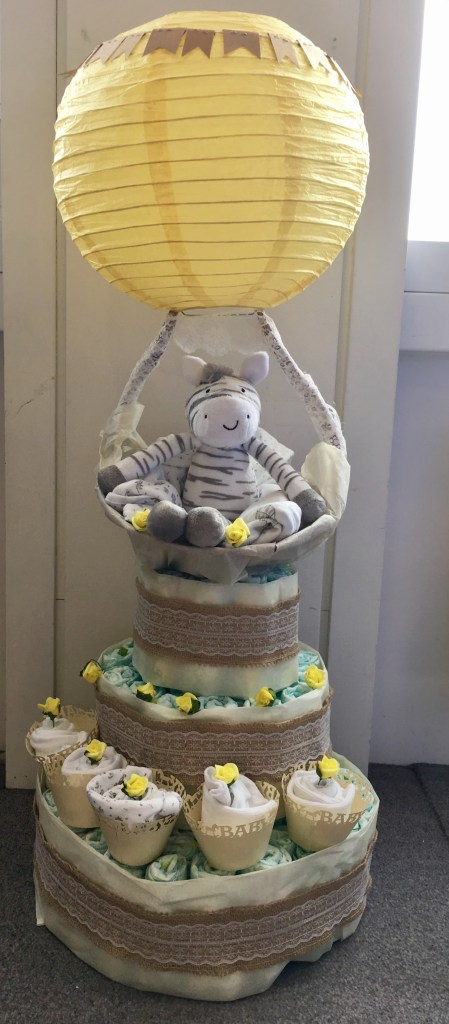 nappy cake designs