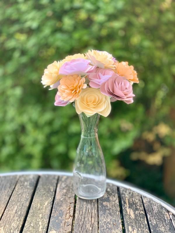 paper flower kit