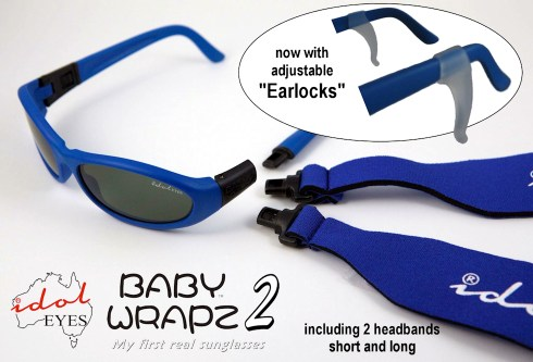 Baby Wrapz 2, The ultimate convertible baby sunglasses