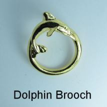Dolphin Brooch - Holds your spectacles