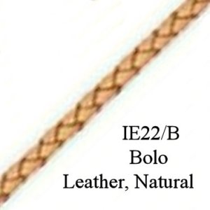 IE 22/B - Bolo Leather cord, Natural
