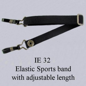 IE 32 - Elastic Sports band, Black