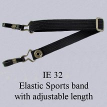 IE 32 - Elastic Sports band, Black