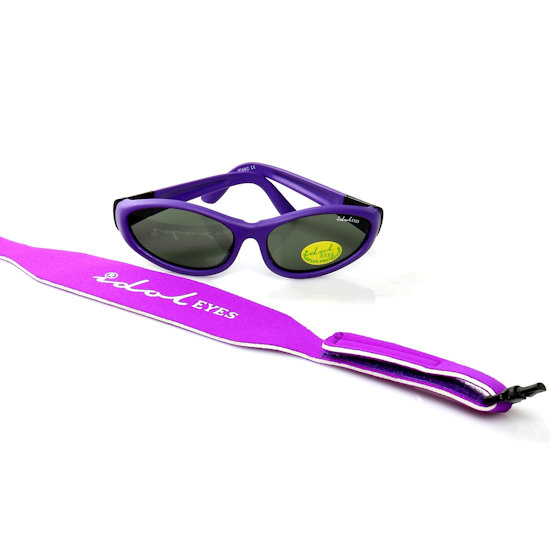 Baby Wrapz 2, Purple convertible baby sunglasses