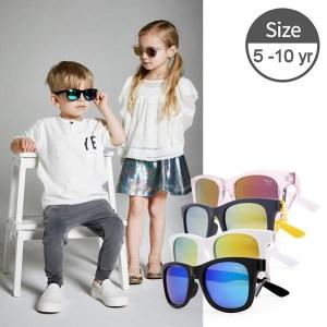 Kids-I-IE9011, Assorted kids sunglasses with Revo mirror lens