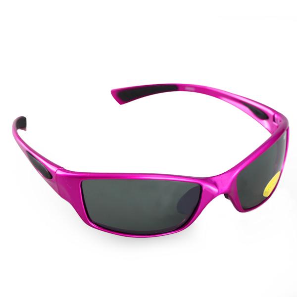 Kids 1 - IE9035, Shiny purple kids sports sunglasses