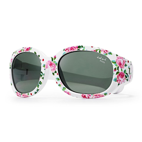 Tiny Tots I - IE5630, White frame with rose print