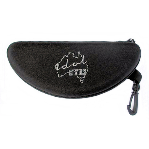 IE SHD Semi Hard case, black. Designed to protect your sunglasses
