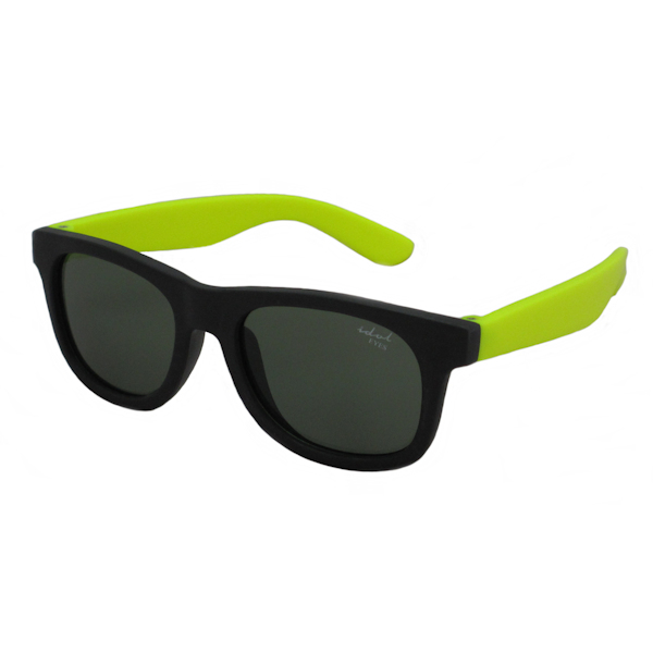 Tiny Tots II - IE1027MR, Black / yellow frame traditional toddler sunglasses