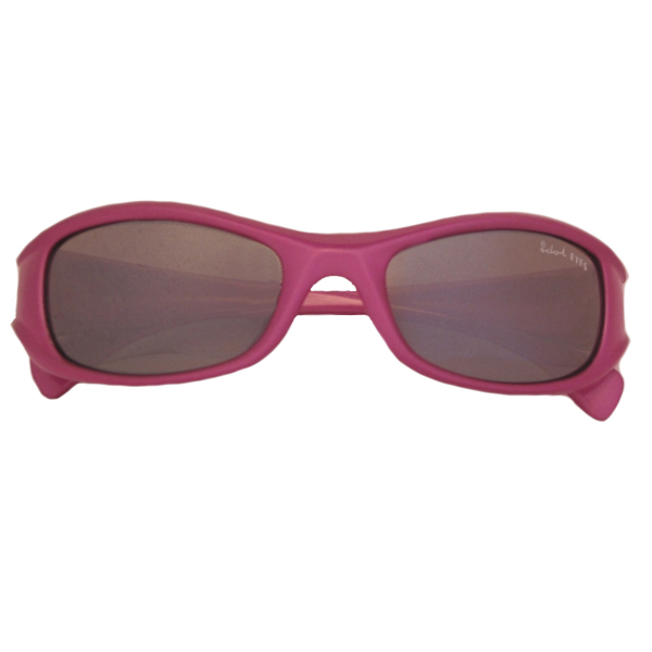 Kids I - IE7019, Shiny Lipstick Pink frame with silver mirror lens