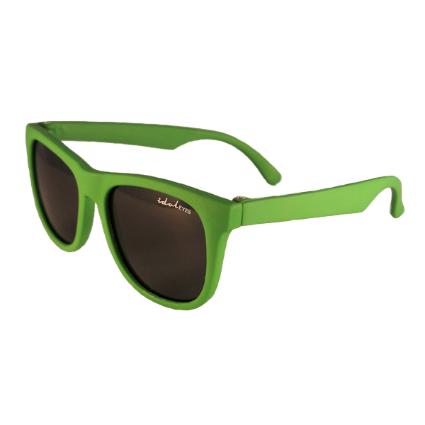 Tiny Tots I - IE1027SR, Green frame traditional toddler sunglasses