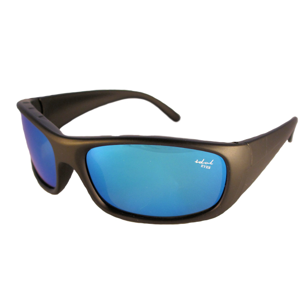 IE5634 Black frame with Blue mirror lens