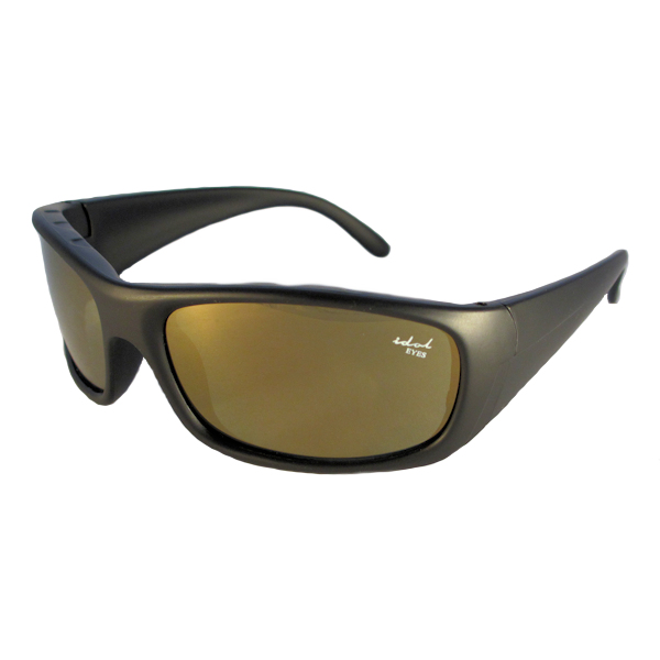 Kids 1 - IE5634 Black frame with Brown mirror lens