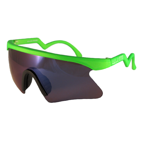 Kids II - IE 735CSX, Green frame kids blade sunglasses