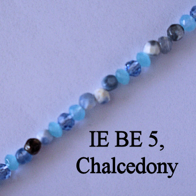 IE BE 5, Chalcedony spectacle chain