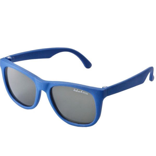 Tiny Tots I - IE1027SR, Blue frame traditional baby sunglasses with G-15 lens