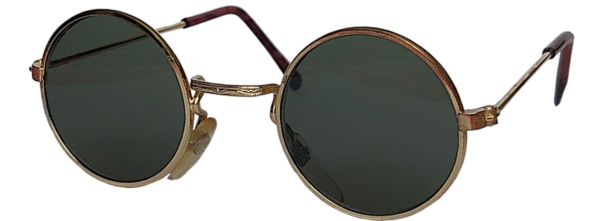 IE 059 Gold, Classic metal sunglasses