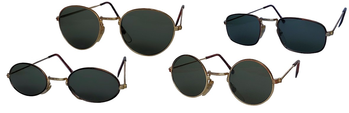 Classic metal sunglasses