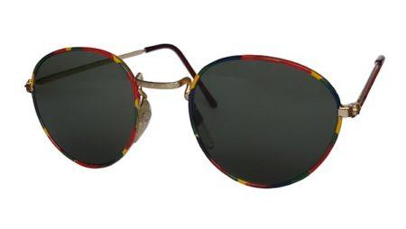 IE 051 Harlequin, Classic metal panto sunglasses