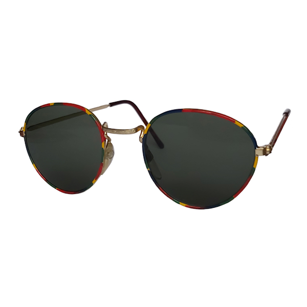 IE 053 Harlequin, Classic metal panto sunglasses