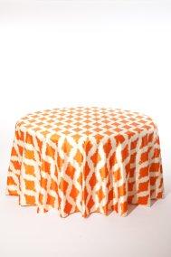 Orange Pompeii_I Do Linens