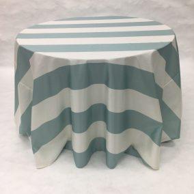 Sea Glass Broadway Stripe_I Do Linens