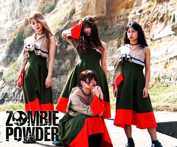 4 neue Live Videos von ZOMBIE POWDER