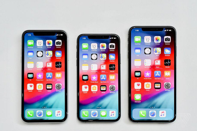 Iphone xs, xs max và iphones xr