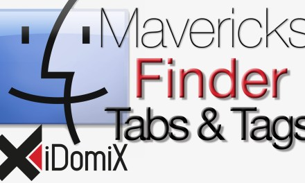 OS X Mavericks Finder Tabs und Tags