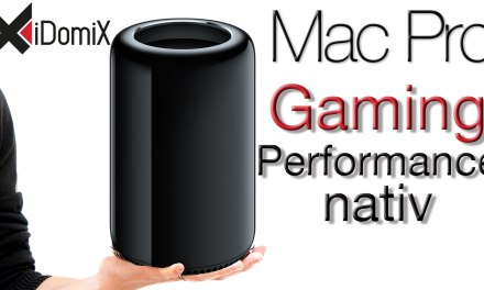 Mac Pro 2013 Gaming Performance nativ (StarCraft II & Diablo III)