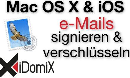 Mit Apple Mail e-Mails signieren und verschlüsseln (S/MIME)