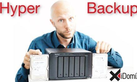 Synology DiskStation Hyper Backup einrichten