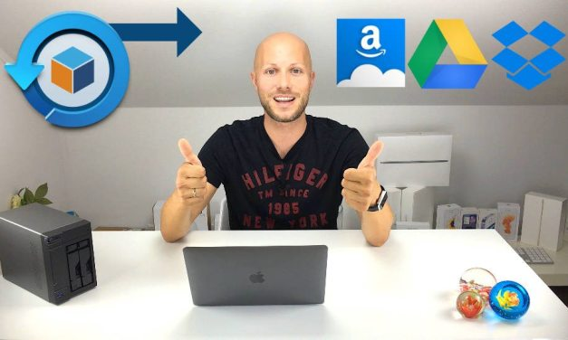 Hyper Backup zu Amazon Drive, Google Drive & DropBox