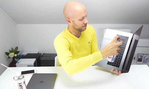 MacBook (Pro) 2016 Taste klemmt reparieren | Tastatur richtig reinigen