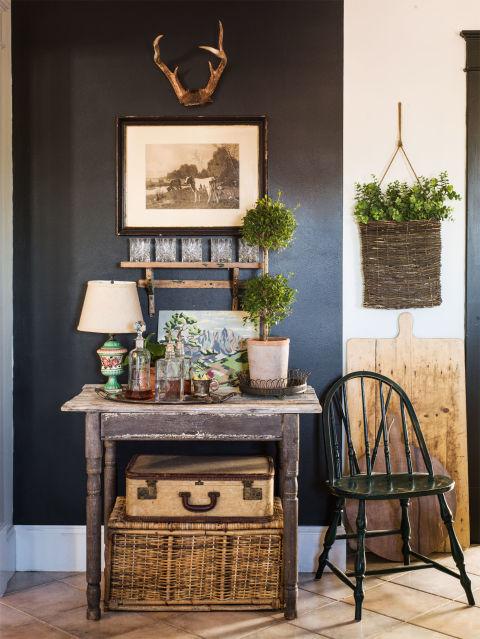 Image Of Vintage Home Decor Ideas Indoor