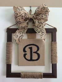 19 DIY Burlap crafts and Ideas
