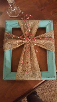 19 DIY Burlap crafts and Ideas - I Do Myself