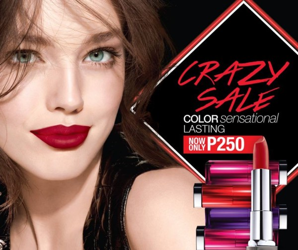 Promotion Maybelline Crazy