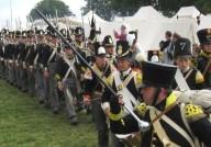 Waterloo 2015 reneacters 12