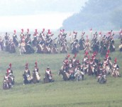 Charge of the French cavalry led by Marshal Ney