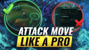 ULTIMATE ATTACK MOVE GUIDE: How To Kite LIKE A PRO – League of Legends