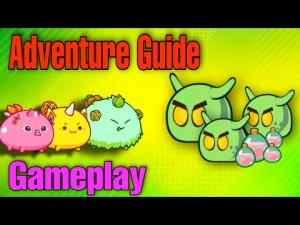 Axie Infinity Adventure Guide   Gameplay   How to  Farm Daily SLP (Tagalog)