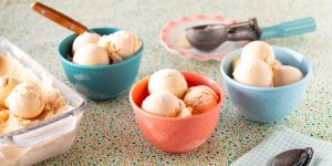 Peach Ice Cream Recipe – How to Make Homemade Peach Ice Cream