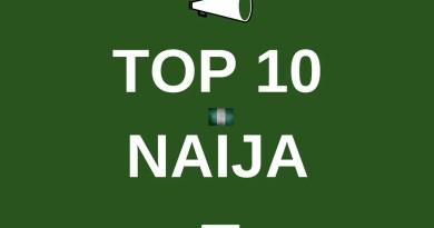 top 10 naija