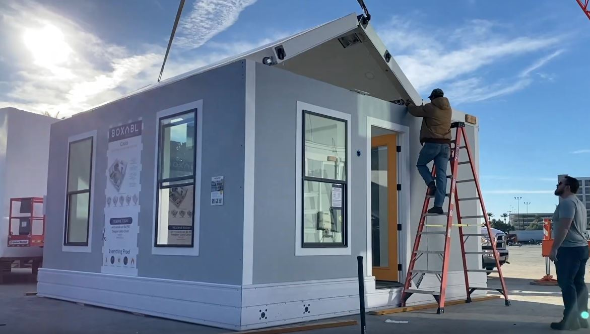 Casita unfolding tiny house