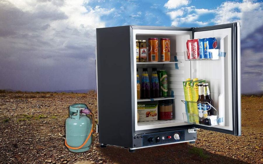 propane refrigerator for a tiny house