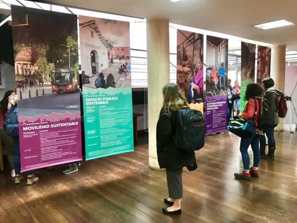 Exposición Casa Abierta del Centro Histórico. Foto: Carlos Lema / IDPC