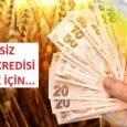 Ziraat Bankası çiftçi kredisi için gerekli belgeler