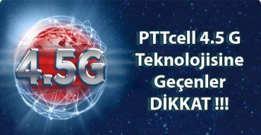 PTTcell 4.5 g sim kart değişikliği internet bankacılığı